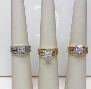 Diamond Rings at Stephens Jewellers