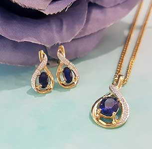Earring and Pendant Collection at Stephens Jewellers